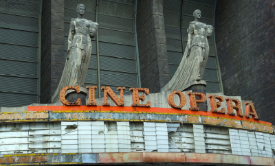 Matthew Routledge, The gloriously abandoned Cine Opera