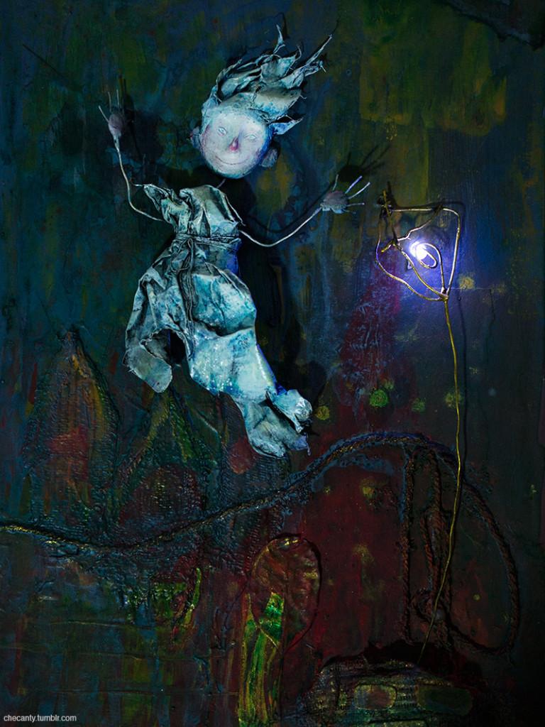 «Faerie Lantern», © Jana Heidersof